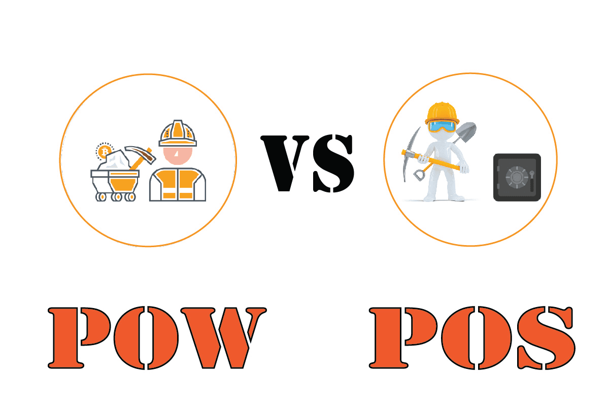 Differences between Proof of Work and Proof of Stake