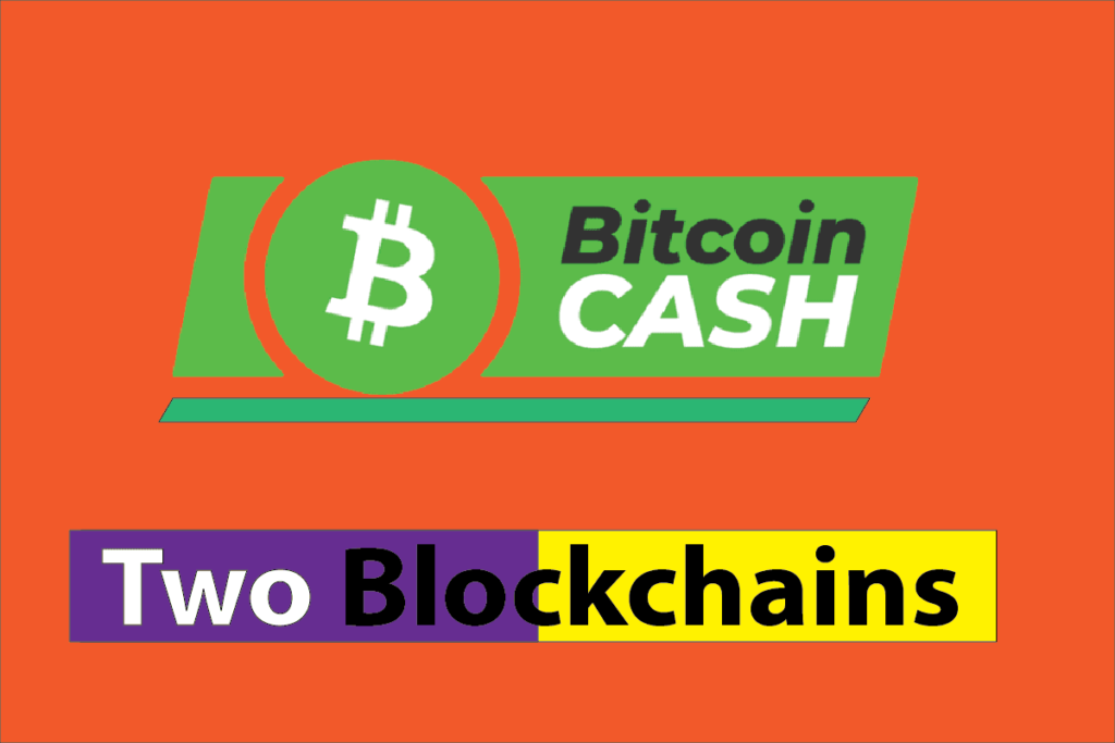 Bitcoin Cash is Presently Two Blockchains