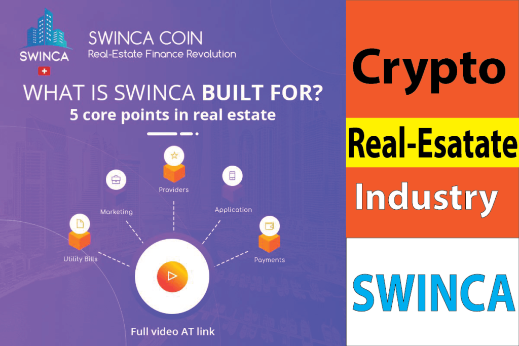SWINCA- The Revolution of Crypto Real-Esatate Industry