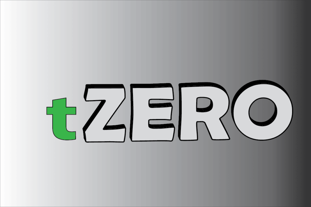 The Token's Price of tZERO is down But the Volume is Light