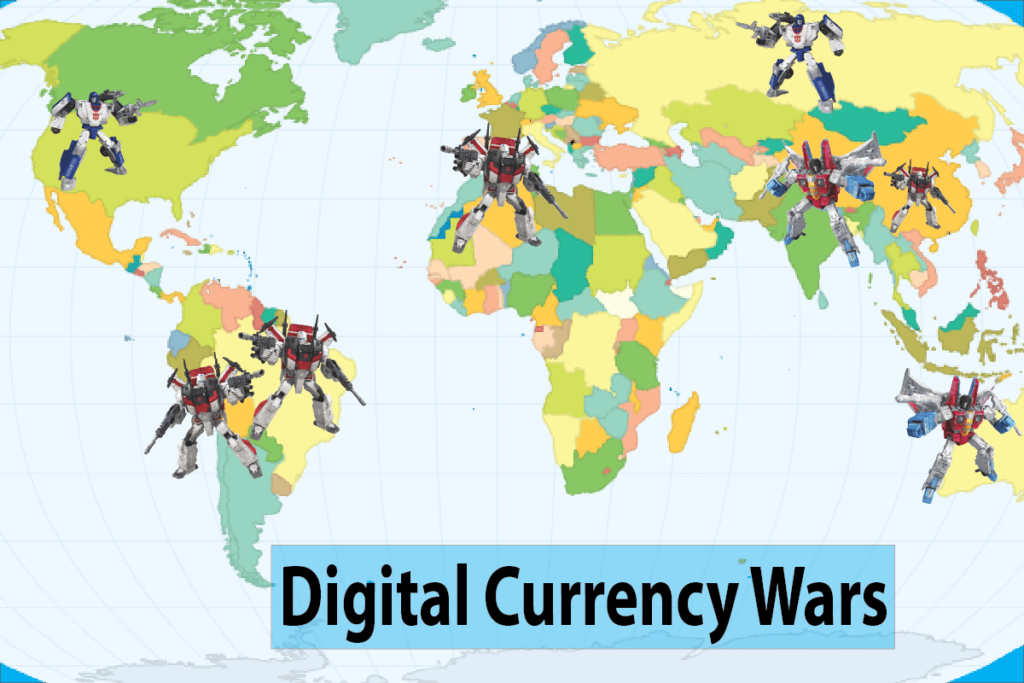 Approaches Brought about in the Global Digital Currency Wars