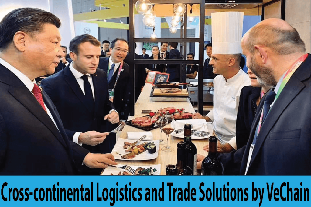Cross-continental Logistics and Trade Solutions by VeChain
