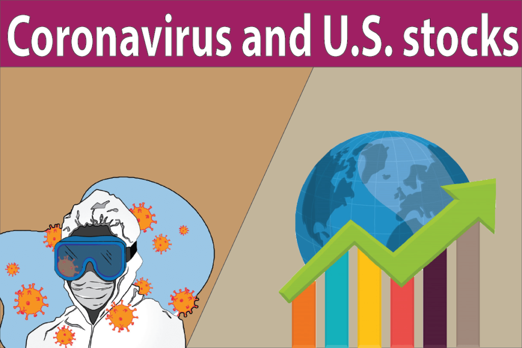 Fear of Coronavirus Sticks to U.S. stocks