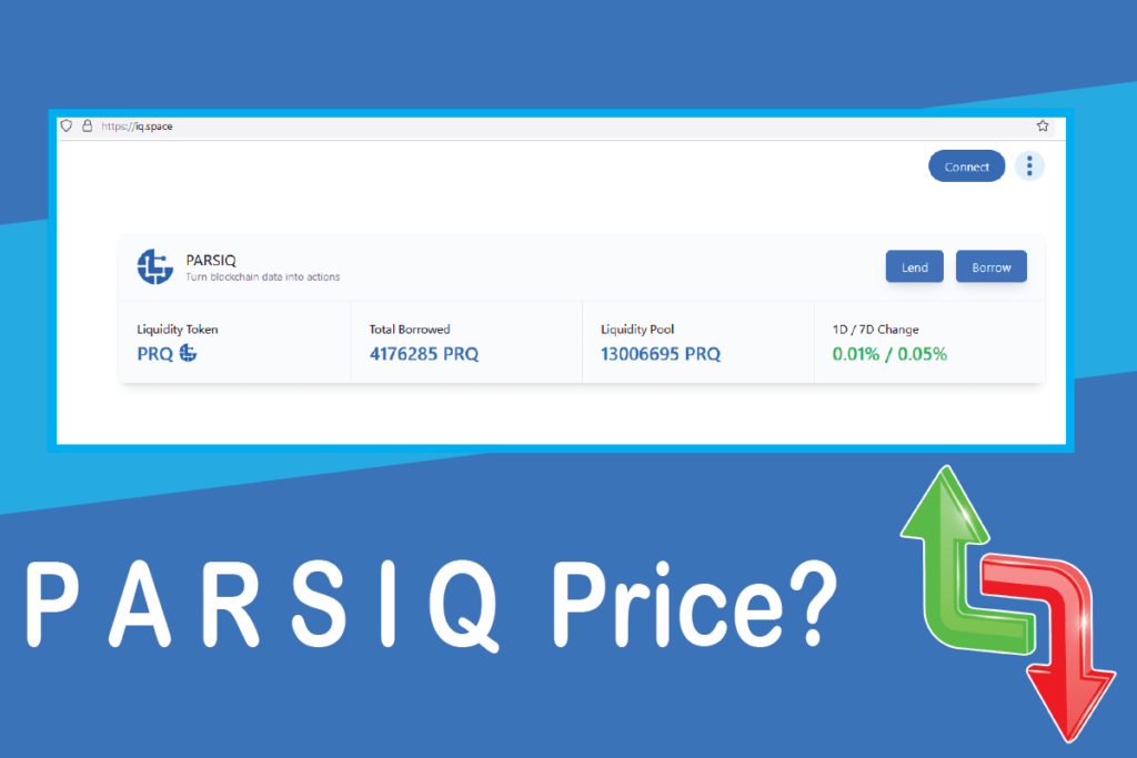 Why isn't PRQ price going up after IQ Protocol?